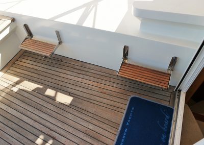 Linssen Yacht 34HT Cockpit
