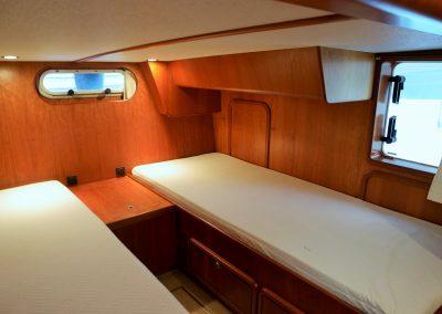 Linssen Yacht 34HT Achterkabine Schlafraum