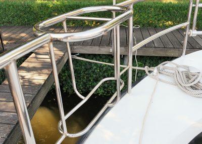 Linssen Yacht 34HT Fenderkorb