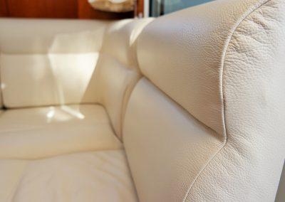 Linssen Yacht 34HT Sitzgruppe Detail