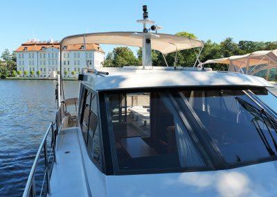 Linssen Yacht 34HT Seitendeck