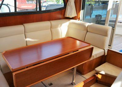 Linssen Yacht 34HT Sitzgruppe