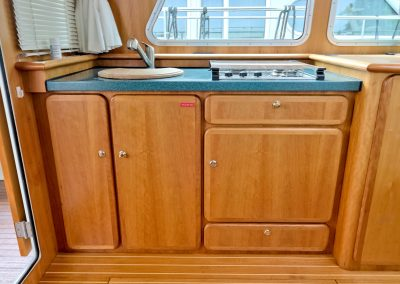 Linssen Grand Sturdy 380 Sedan Pollux Pantry